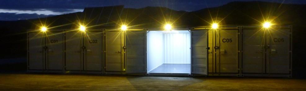 Beleuchtung mit Solarstrom Inselanlage Solaranlage Photovoltaic